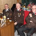 Franz Lechner, Anton Schembera und Johann Hofer an der Eintrittskassa