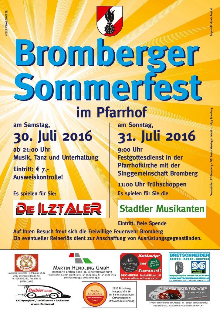 Bromberger Sommerfest 2016