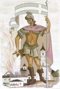 Bild des heiligen Florian