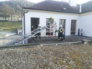 Evakuierungsübung Volksschule