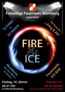 Plakat Fire & Ice 2020