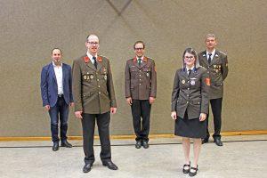 Mitgliederversammlung - neu gewähltes Kommando